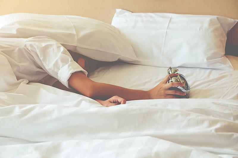 black out blinds - hiding under pillow